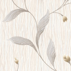 Belgravia Tiffany Platinum Trail Wallpaper