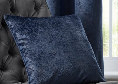Navarra Indigo Cushion (filled)